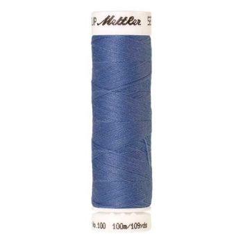 Mettler Threads - Seralon Polyester - 100m Reel - Dolphin Blue 1368