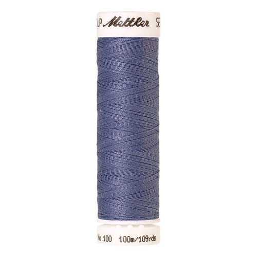 Mettler Threads - Seralon Polyester - 100m Reel - Cadet Blue 1466