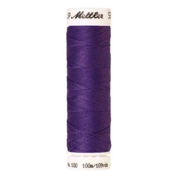 Mettler Threads - Seralon Polyester - 100m Reel - Iris Blue 0030