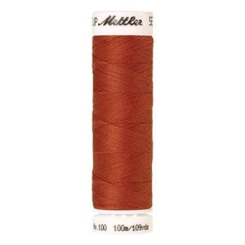 Mettler Threads - Seralon Polyester - 100m Reel - Reddish Ocher 1288