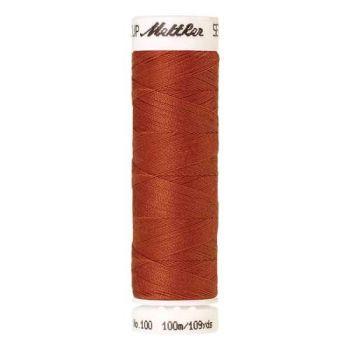 Mettler Threads - Seralon Polyester - 100m Reel - Reddish Ocher 1288