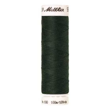 Mettler Threads - Seralon Polyester - 100m Reel - Deep Green 0627