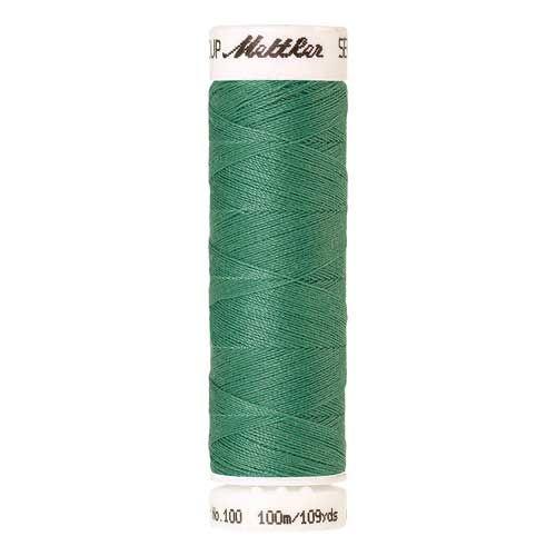 Mettler Threads - Seralon Polyester - 100m Reel - Bottle Green 0907