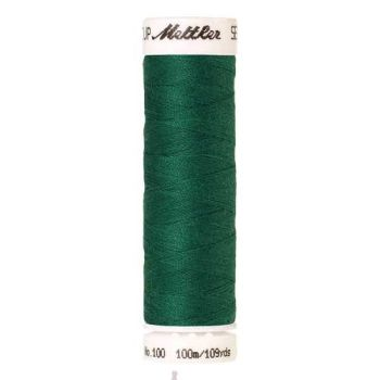Mettler Threads - Seralon Polyester - 100m Reel - Field Green 0909