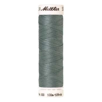 Mettler Threads - Seralon Polyester - 100m Reel - Vintage Blue 1214