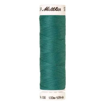 Mettler Threads - Seralon Polyester - 100m Reel - Deep Aqua 1091