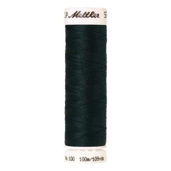 Mettler Threads - Seralon Polyester - 100m Reel - Forest Green 1094