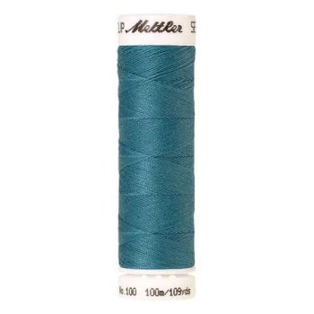 Mettler Threads - Seralon Polyester - 100m Reel - Glacier Blue 0722