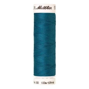 Mettler Threads - Seralon Polyester - 100m Reel - Caribbean Blue 1394