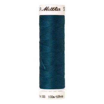 Mettler Threads - Seralon Polyester - 100m Reel - Dark Turquoise 0483