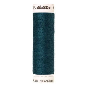 Mettler Threads - Seralon Polyester - 100m Reel - Deep Sea Blue 0760