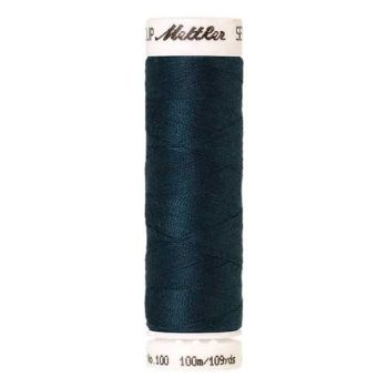 Mettler Threads - Seralon Polyester - 100m Reel - Tartan Blue 0485