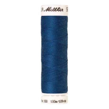 Mettler Threads - Seralon Polyester - 100m Reel - Colonial Blue 0024