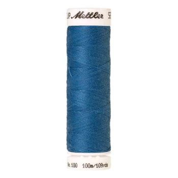 Mettler Threads - Seralon Polyester - 100m Reel - Wave Blue 0022