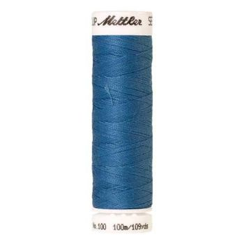 Mettler Threads - Seralon Polyester - 100m Reel - Reef Blue 0338
