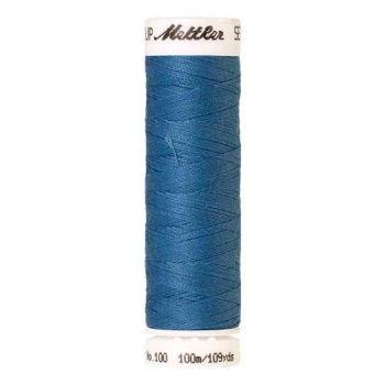 Mettler Threads - Seralon Polyester - 100m Reel - Reef Blue 0338