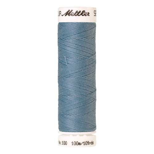 Mettler Threads - Seralon Polyester - 100m Reel - Azure Blue 0272
