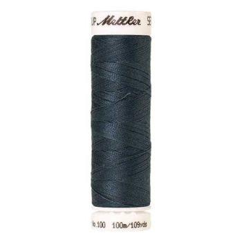 Mettler Threads - Seralon Polyester - 100m Reel - Stormy Sky 1275
