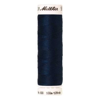 Mettler Threads - Seralon Polyester - 100m Reel - Slate Blue 0807