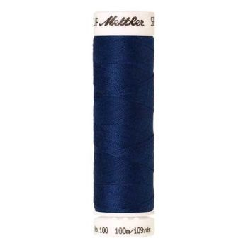 Mettler Threads - Seralon Polyester - 100m Reel - Imperial Blue 1304