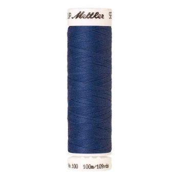 Mettler Threads - Seralon Polyester - 100m Reel - Cobalt Blue 0815