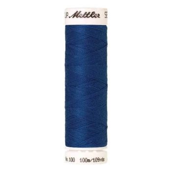Mettler Threads - Seralon Polyester - 100m Reel - Blue 1463