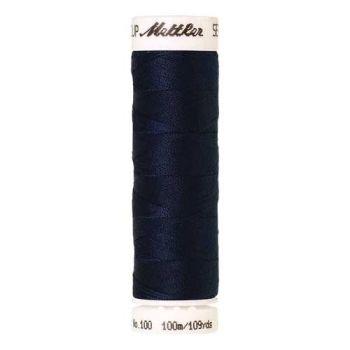 Mettler Threads - Seralon Polyester - 100m Reel - Midnight Blue 1465