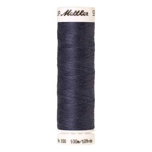 Mettler Threads - Seralon Polyester - 100m Reel - Blue Shadow 0311