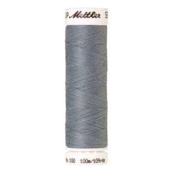 Mettler Threads - Seralon Polyester - 100m Reel - Ash Blue 0042