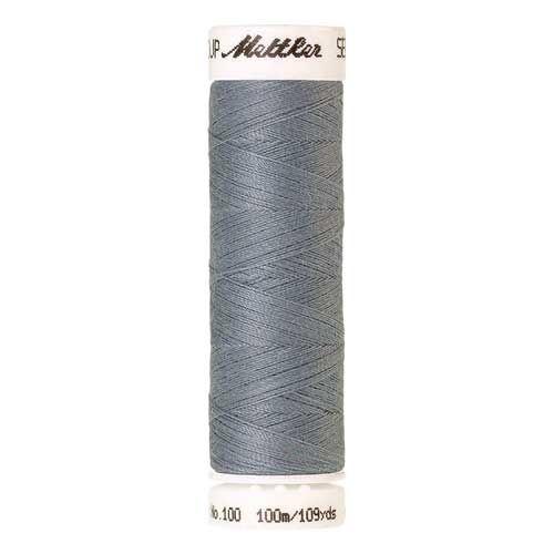 Mettler Threads - Seralon Polyester - 100m Reel - Ash Blue 0042