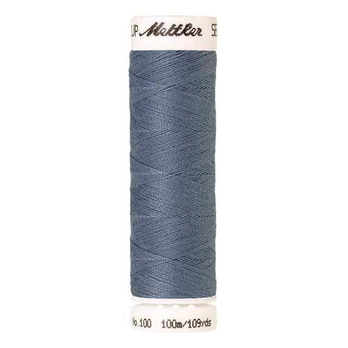 Mettler Threads - Seralon Polyester - 100m Reel - Blue Speedwell 1342