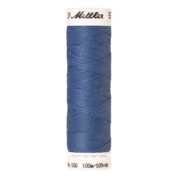 Mettler Threads - Seralon Polyester - 100m Reel - Blue Bird 0819