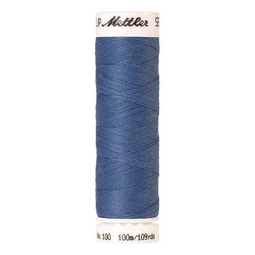 Mettler Threads - Seralon Polyester - 100m Reel - Blue Bird 0819
