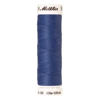 Mettler Threads - Seralon Polyester - 100m Reel - Tufts Blue 1464