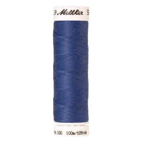 Mettler Threads - Seralon Polyester - 100m Reel - Tufts Blue 1464
