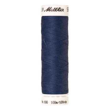 Mettler Threads - Seralon Polyester - 100m Reel - Bellflower 0583