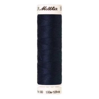 Mettler Threads - Seralon Polyester - 100m Reel - Dark Sea 0585