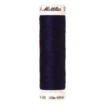 Mettler Threads - Seralon Polyester - 100m Reel - Light Midnight 0014