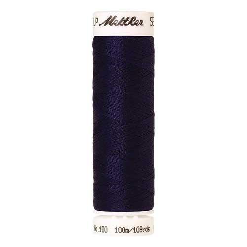 Mettler Threads - Seralon Polyester - 100m Reel - Light Midnight 0014