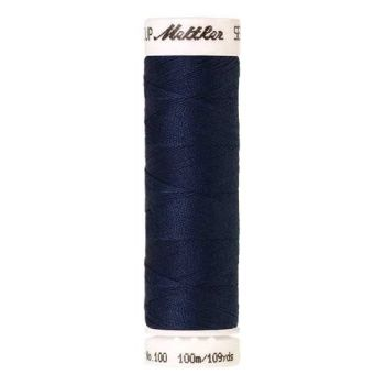 Mettler Threads - Seralon Polyester - 100m Reel - Prussian Blue 1467