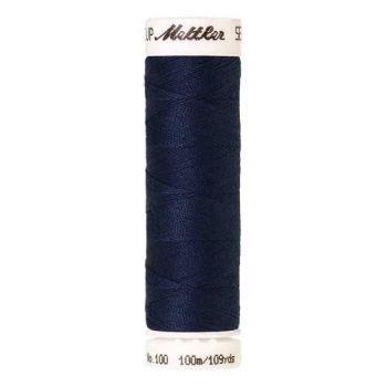 Mettler Threads - Seralon Polyester - 100m Reel - Prussian Blue 1467