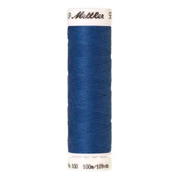 Mettler Threads - Seralon Polyester - 100m Reel - Marine Blue 1315
