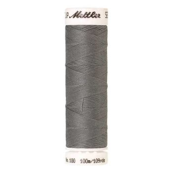 Mettler Threads - Seralon Polyester - 100m Reel - Summer Grey 3501