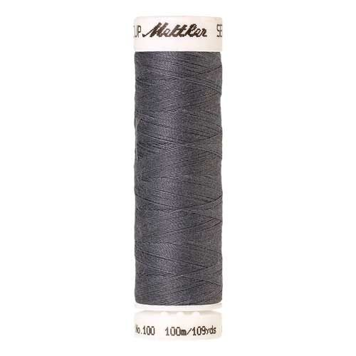 Mettler Threads - Seralon Polyester - 100m Reel - Dim Grey 0343