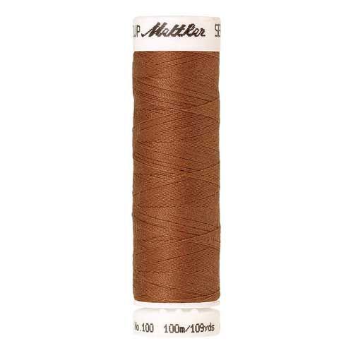 Mettler Threads - Seralon Polyester - 100m Reel - Squirrel 1053