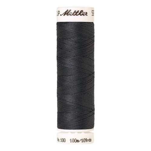 Mettler Threads - Seralon Polyester - 100m Reel - Mousy Grey 0878