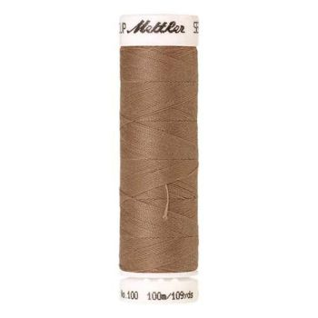 Mettler Threads - Seralon Polyester - 100m Reel - Taupe 0512