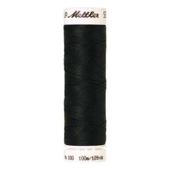 Mettler Threads - Seralon Polyester - 100m Reel - Obsidian 1362