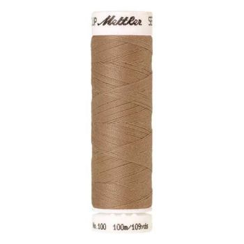 Mettler Threads - Seralon Polyester - 100m Reel - Straw 0538