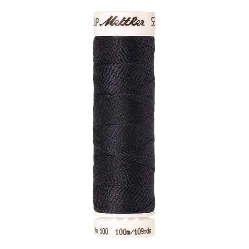 Mettler Threads - Seralon Polyester - 100m Reel - Mole Grey 0348